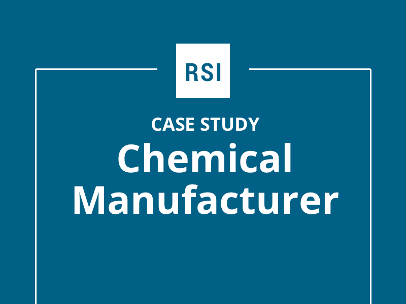 Case study: Chemical Manufacturer