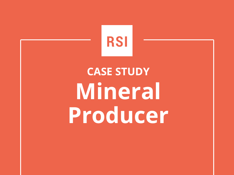 Case Study: Mineral Producer