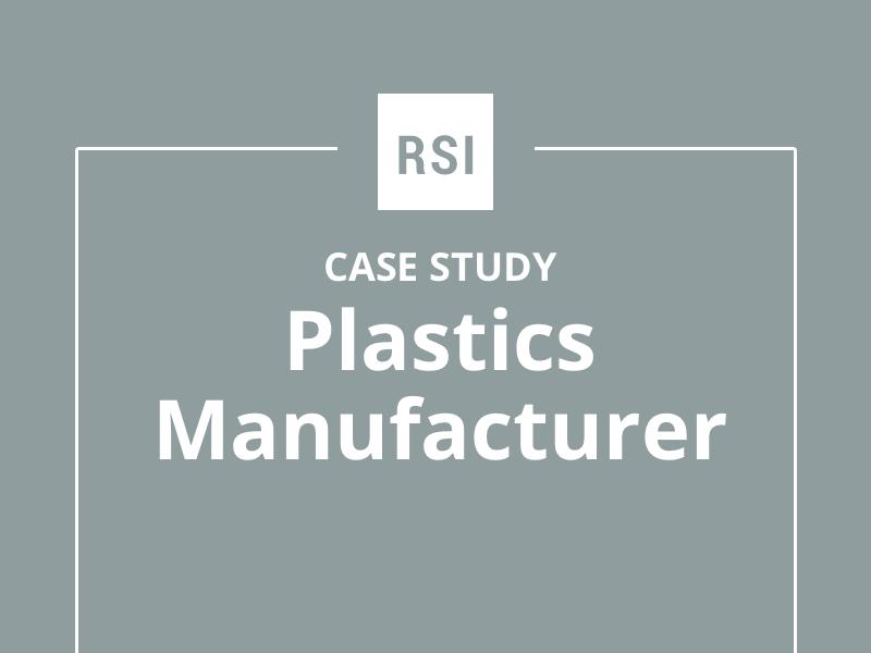 Case Study: Plastics Manufacturer