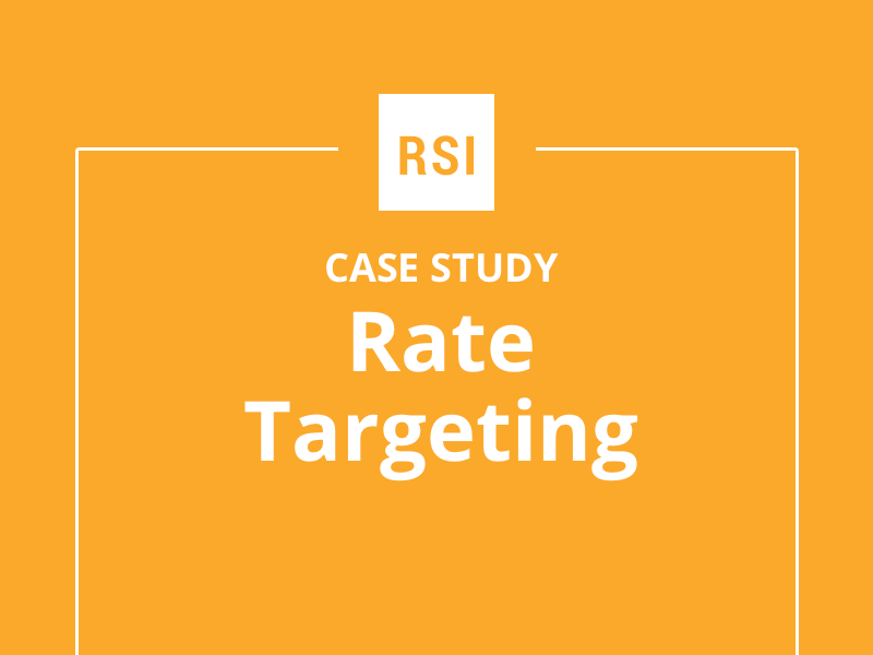 Case Study: Rate Targeting