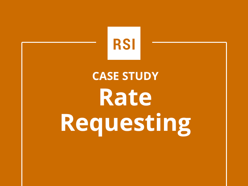 Case Study: Rate Requesting