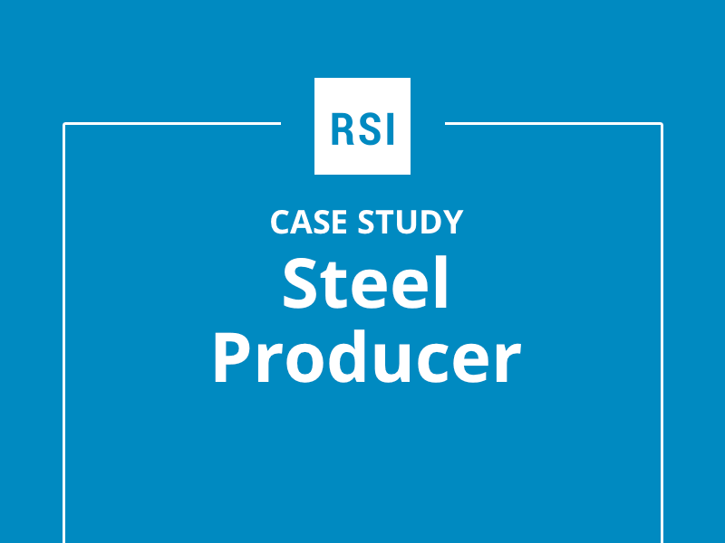 Case Study: Steel Producer