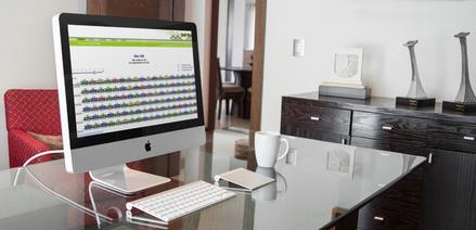 Railcar tracking software on desktop